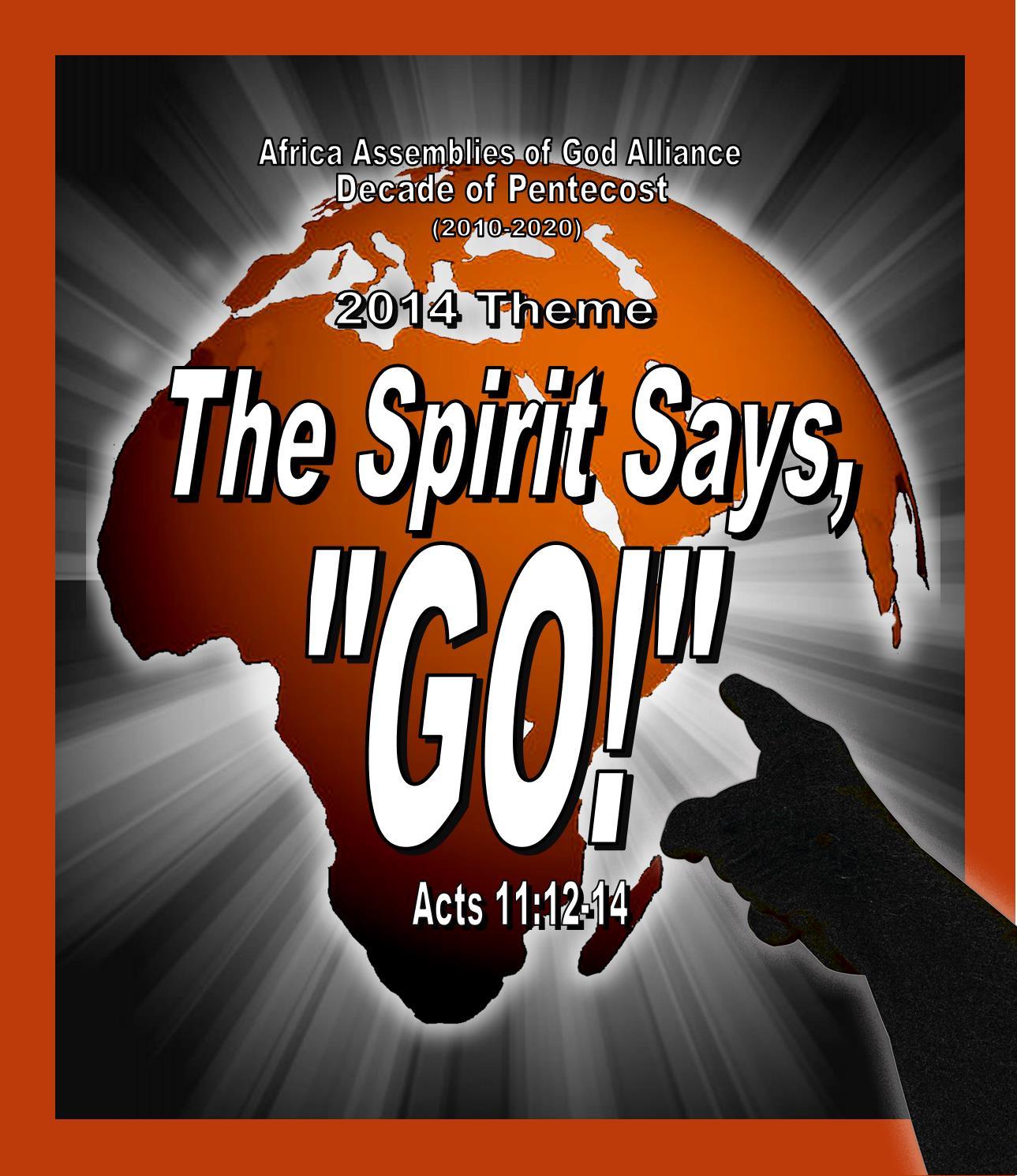 2014 theme decade of pentecost