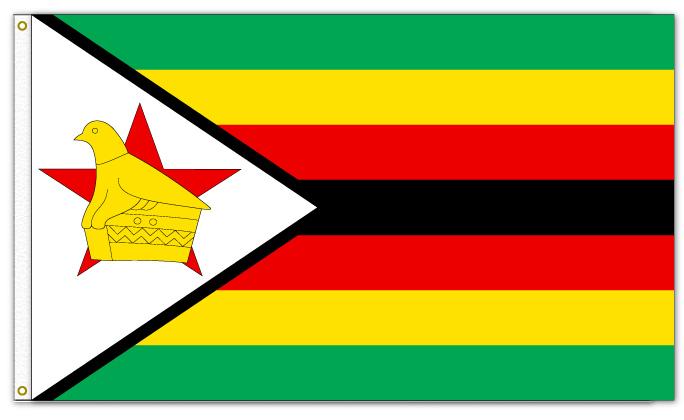 31-Zimbabwe Flag