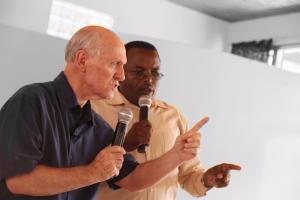 Denny Preaching 2